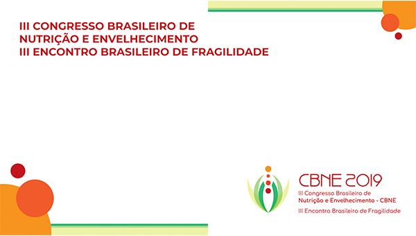 III CONGRESSO BRASILEIRO DE NUTRIÇÃO E ENVELHECIMENTO