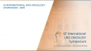 12th INTERNATIONAL URO-ONCOLOGY SYMPOSIUM - 2019
