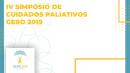 IV SIMPOSIO DE CUIDADOS PALIATIVOS - GERO 2019