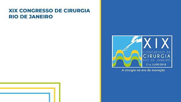 DVD + ONLINE - XIX CONGRESSO DE CIRURGIA DO RIO DE JANEIRO