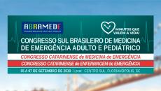 Online - II Congresso Sul Brasileiro de Medicina de Emergência Adulto e Pediátrica  - ABRAMEDE 2019