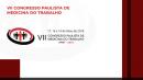 DVD + ONLINE - VII Congresso Paulista de Medicina do Traballho