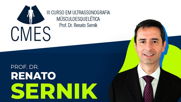DVD - III CURSO DE ULTRASSONOGRAFIA – MÚSCULOESQUELÉTICA - Prof. Dr. Renato A. Sernik