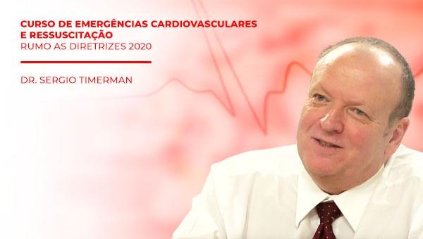 DVD  Curso de Emergencias Cardiovasculares e Ressuscitacao  Rumo as Diretrizes 2020
